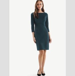 M.M. Lafleur Angela Textured Ponte Knit Dress 16